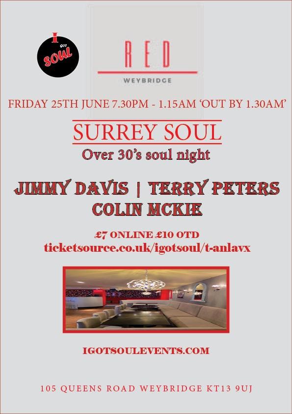 Red-Surrey Soul