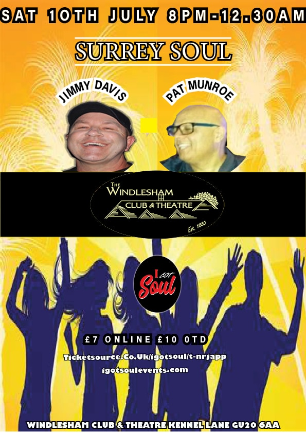 Surrey Soul-July Monthly