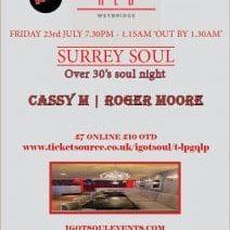Red-Surrey Soul-July